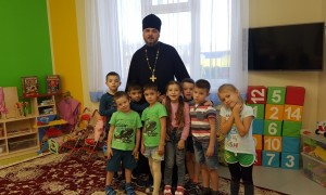 Встреча с детском саду