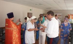 Престольный праздник в больничном храме