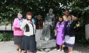 Гости из п.Пролетарский