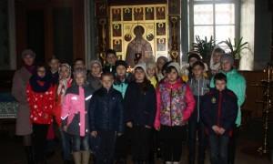 Белгородские школьники в Ракитянском храме