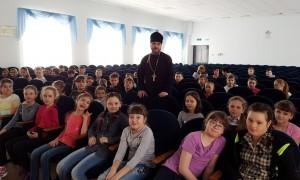 Плодотворный разговор со школьниками