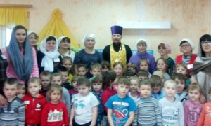 Освящение детского сада с.Центральное