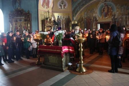 Соборная молитва о трагически погибших
