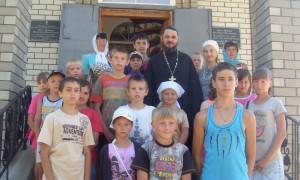 ПОЕЗДКА В УСПЕНСКИЙ ХРАМ П.ПРОЛЕТАРСКИЙ
